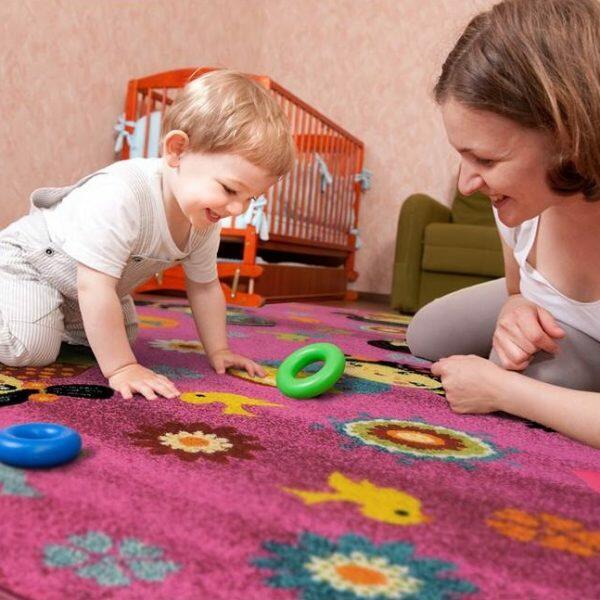 μηχανοποίητο παιδικό χαλί αντιαλλεργικό αντιβακτηριδιακό